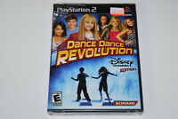 Dance Dance Revolution Disney Channel Playstation 2 PS2 Video Game New Sealed