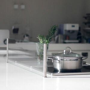 Spritzschutz Protect Spritzschutz Küche Herd Glas Kochinsel Kücheninsel 600x200