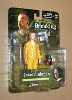 BREAKING BAD JESSE PINKMAN YELLOW SUIT Action Figure Mezco Figur