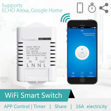 16A Smart Home WiFi Wireless Timer Switch Module For Apple Android APP Control