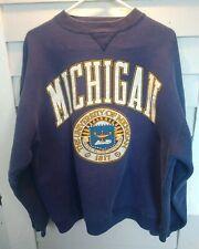 Vintage Xl pre-owned Michigan Wolverines Sweatshirt 1970s