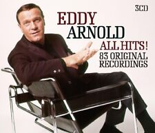 EDDY ARNOLD - ALL HITS! ORIGINAL RECORDINGS  3 CD NEW!