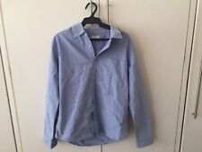 Bench Light Blue Soft Denim Buttondown Long-Sleeved Shirt  Size L