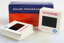 Agfachrome Color Transparencies In Original Box