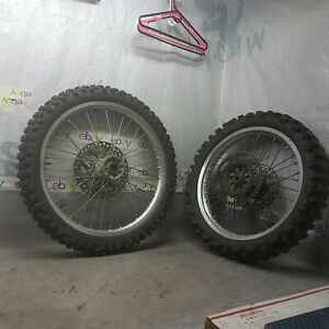 Kawasaki 1990-1992 KX250 KX 250 KX125 125 Front and Rear rims rotors sprocket
