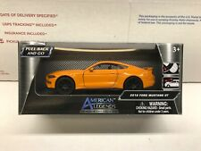 American Legends 2018 Ford Mustang GT Orange 1:43 New