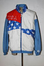 VTG Starter United States USA Olympics 1996 Atlanta Light Weight Jacket Sz L