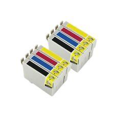 8 Tintas compatible non oem para Epson Stylus Stylus S22 SX125 SX130 SX420W