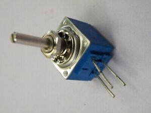 """16mm Bourns Panel Mount Potentiometer 100K Linear Cermet 1/8"""" 3.2mm Spindle Z058"""