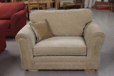 Ashley Manor Jackson Beige Fabric Cuddle Chair