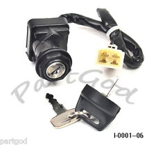 New IGNITION SWITCH w/ keys FITS POLARIS SCRAMBLER 400 500 1999 ATV Go-Kart EA