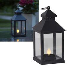 """LED Garten-Laterne """"AGRA"""" mit Solar Kerze Solarleuchte Solarlampe Windlicht"""