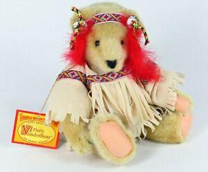 "Fluffy Vanderbear Plush Bear Pawcahontas The Desert Beauty 13"" Wild West 1991"