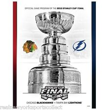 2015 STANLEY CUP FINAL CHICAGO BLACKHAWKS VS TAMPA BAY LIGHTNING PROGRAM