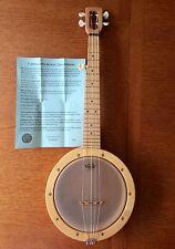 More details for magic fluke firefly 5 string banjo19inch scale nylon strung