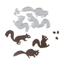 Christmas Squirrel nuts Set Cutting Dies For Scrapbooking Card Craft Decor LC
