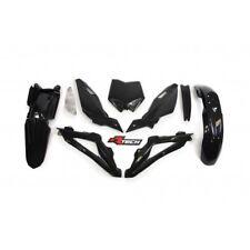 Racetech Plastics kit BLACK. HUSQVARNA TE 310 2008 - 2010