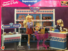 Unused BARBIE & KELLY SUPERMARKET Playset Display SHELF ZURU MINI BRAND Series 2