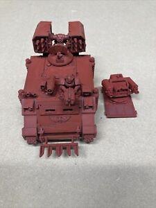 Warhammer 40K space marine whirlwind / razorback FW Heavy bolter turret