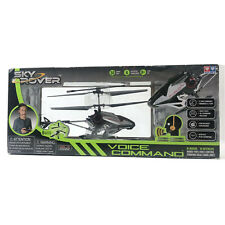 Sky Rover Hands Free Voice Command Heli Flying Vehicle Helicopter Remote Control