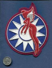 Bullion AVG 3rd HELLS ANGELS FLYING TIGERS Chinese Star AAC USAF Squadron Patch