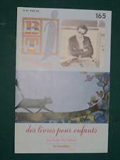 """Bibliothèque de travail BTj n° 165 1978 """"J'illustre des livres pour enfants"""""""