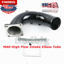 For 98.5-02 Dodge Ram 5.9L Cummins Diesel High Flow Black Intake Elbow Tube USA