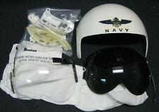 FLIGHT HELMET, APH, HGU , Rams Horn Dual Visor Kit, Lg Gentex, 1980's NIB