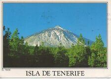 ISLA de TENERIFE Canary Islands Picture Postcard Mount Teide Unbroken Blue Sky