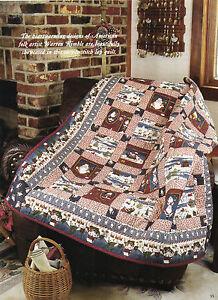 Happy Santas Quilt Pattern Pieced HW