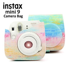 For Fujifilm Instax Mini 8 9 Instant Camera Paint Shoulder Bag Case Cover Strap