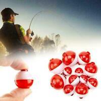 12Pcs Plastic New Bubble Floats Tackle Water Ball Fishing C9Q5 Balls Float T3U9