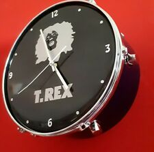 MARC BOLAN & T.REX Drum clock