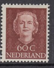 NETHERLANDS :1949 Queen Juliana 60c lake-brown SG 697 mint