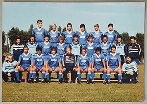 Calcio formazione Como 1984/85 con Ottavio Bianchi