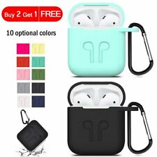 Silicone Case Cover Strap Holder For Apple Airpods 1 2 3 Pro Earpods Accessories