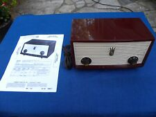 Zenith A508R Table Top Tube Radio -1956 - Refurbished - Looks & Play Great