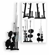 "BODYRIP 1"" standard poids barbell plaque rack stand holder tree gym de conservation"