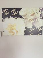 Chanel Camelia Oliver Gal canvas art Gorgeous!