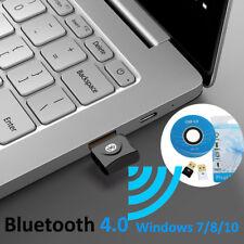 NANO USB CSR CHIP Bluetooth AUDIO Dongle TRANSMITTER ADAPTER for PC Windows 8/10