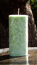 350hr GREEN TEA & BAMBOO Stress Relieving Huge 1.2kg Lightly SCENTED ECO CANDLE