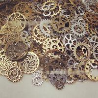 20pcs Bronze Watch Parts STEAMPUNK CYBERPUNNK COGS GEARS DIY JEWELRY CRAFT