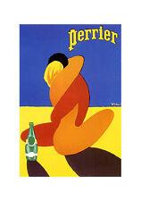 PERRIER - VINTAGE POSTER  - JUMBO FRIDGE MAGNET #3