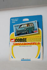 CORGI JUNIORS #40 FORD TRANSIT CARAVAN CARDBACK BLISTERPACK CARD, LOT A