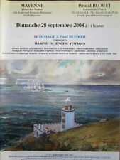 Catalogue de vente : Marine Sciences Voyage carte Hommage à Paul Budker