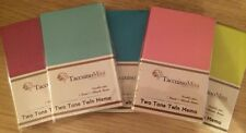 SET OF 2  SMALL NOTEPAD NOTE BOOK, TWO COLOURS, POCKET BOOK POCKET PAD NEW DIARY