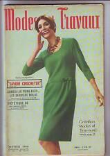 modes et travaux -781 - janvier 1966 - complet bon etat