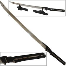 Raiden Sword Metal Blade Gear Rising Sun Solid 440C Stainless Steel Katana