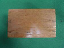 Wooden Box Vintage Physics Electronics Lab Apparatus Oak Pen Holder Component
