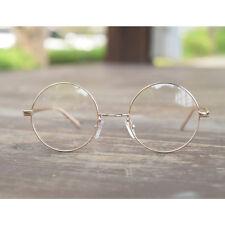 1920 Vintage oliver rétro lunettes rondes 43R90 Gold style eyeglasses cadres